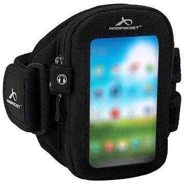 LG G3 S Armpocket i-30 Käsivarsikotelo M Musta