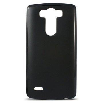 LG G3 S Ksix Flex TPU Kotelo Musta