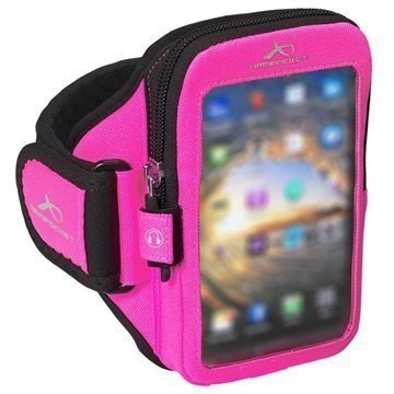 LG G4 Armpocket Ultra i-35 Käsivarsikotelo S Pinkki