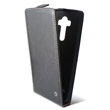 LG G4 Ksix Pystysuuntainen Läppäkotelo Musta