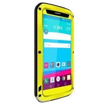 LG G4 Love Mei Powerful Hybrid Suojakuori Keltainen