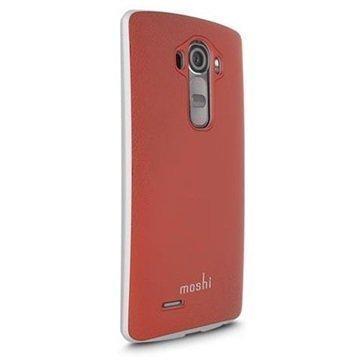 LG G4 Moshi iGlaze Napa Kotelo Punainen