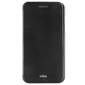LG G4 Puro Wallet Kotelo Musta