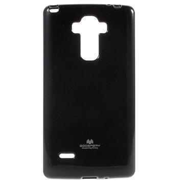 LG G4 Stylus Mercury Goospery TPU Kotelo Musta