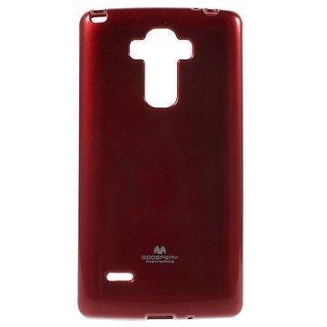LG G4 Stylus Mercury Goospery TPU Kotelo Punainen