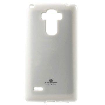 LG G4 Stylus Mercury Goospery TPU Kotelo Valkoinen