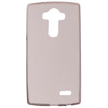 LG G4 Tuff-Luv TPU-Geelikotelo Harmaa