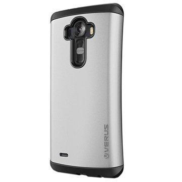 LG G4 Verus Thor Hard Drop Series Kotelo Vaalea Hopea