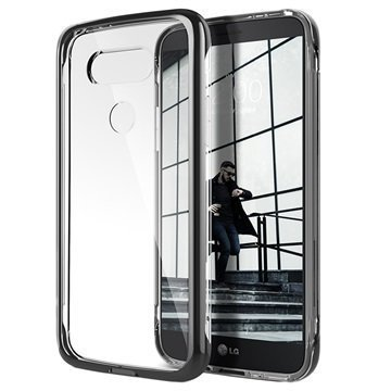 LG G5 Caseology Skyfall Kotelo Musta