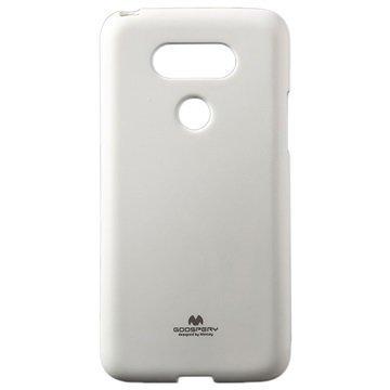 LG G5 Mercury Goospery TPU Kotelo Valkoinen