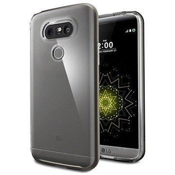 LG G5 Spigen Neo Hybrid Crystal Case Gunmetal