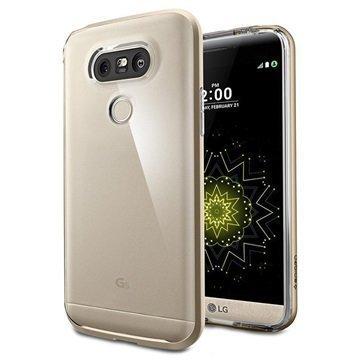 LG G5 Spigen Neo Hybrid Crystal Kotelo Samppanjakulta