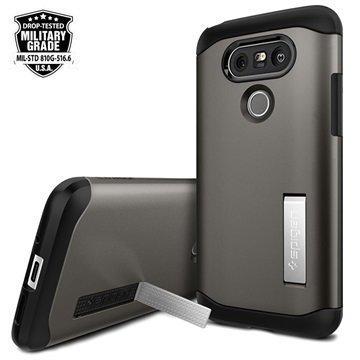 LG G5 Spigen Ohut Panssarikuori Gunmetal