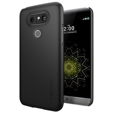 LG G5 Spigen Thin Fit Case Black