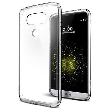 LG G5 Spigen Ultra Hybridi Suojakuori Kristallinkirkas