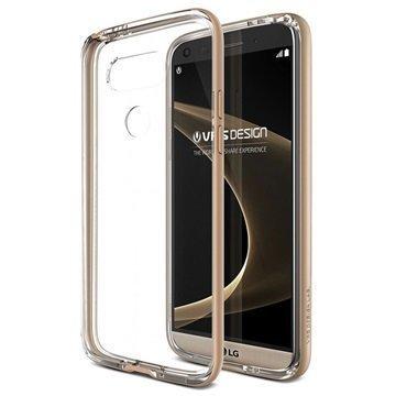 LG G5 VRS Design Crystal Bumper -Sarjan Kotelo Hohtava Kulta