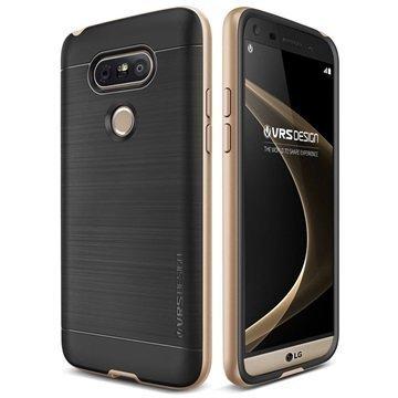 LG G5 VRS Design High Pro Shield -Sarjan Kotelo Hohtava Kulta