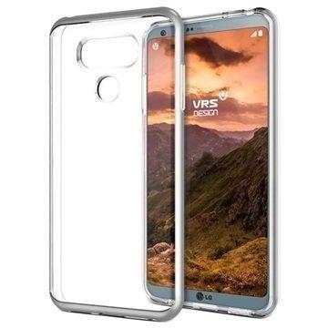 LG G6 VRS Design Crystal Bumper Suojakuori Hopea