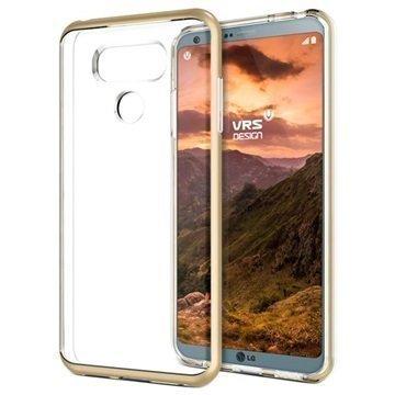 LG G6 VRS Design Crystal Bumper Suojakuori Kulta