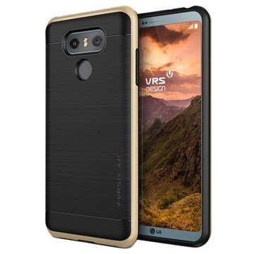 LG G6 VRS Design High Pro Shield Kotelo Kulta
