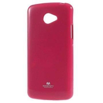 LG K5 Mercury Goospery TPU Kotelo Kuuma Pinkki