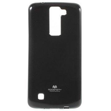 LG K8 Mercury Goospery TPU Kotelo Musta