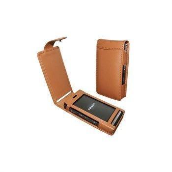 LG KE850 Prada Piel Frama Classic Snap Nahkakotelo Parkittunahka