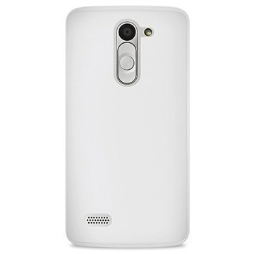 LG L Bello Puro 0.3 Ultra Slim Silicone Case Transparent