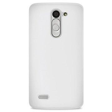 LG L Bello Puro 0.3 Ultra Slim Silicone Case Transparent