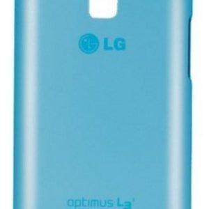LG L3 II Silicone Case CCH-220 Blue