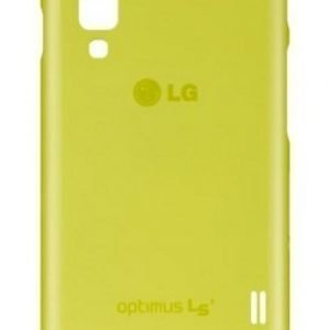 LG L3 II Silicone Case CCH-220 Green
