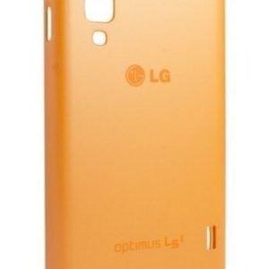 LG L3 II Silicone Case CCH-220 Orange