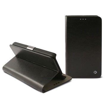 LG L60 L60 Dual Ksix Folio Kotelo Musta