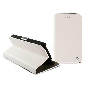 LG L60 L60 Dual Ksix Folio Kotelo Valkoinen