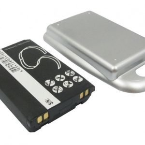 LG LX350 PM350 Tehoakku Laajennetulla hopeisella takakannella 1700 mAh