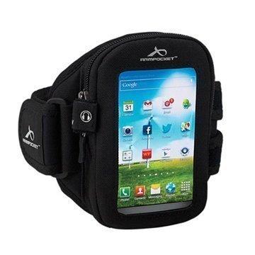 LG Lucid 3 VS876 Armpocket I-30 Käsivarsihihna L Musta