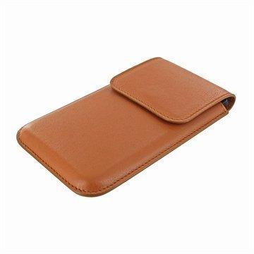 LG Nexus 5 Piel Frama Unipur Nahkakotelo Tan