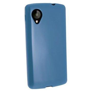 LG Nexus 5 iGadgitz Crystal TPU-Kotelo Sininen