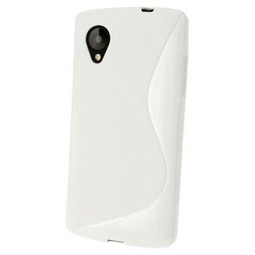 LG Nexus 5 iGadgitz S Line TPU-Kotelo Kirkas
