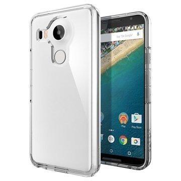 LG Nexus 5X Spigen Ultra Hybridikotelo Kristallinkirkas
