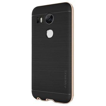 LG Nexus 5X Verus High Pro Shield Series Kotelo Hohtava Kulta