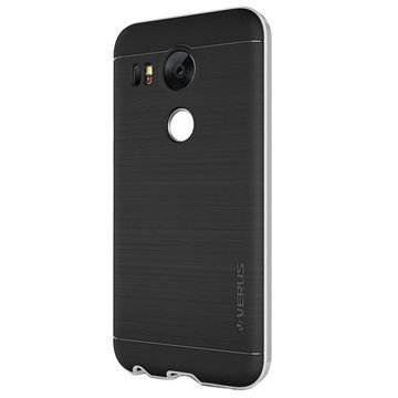 LG Nexus 5X Verus High Pro Shield Series Kotelo Vaalea Hopea