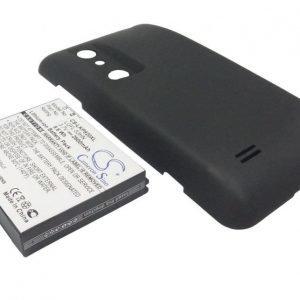 LG Optimus 3D P920 Tehoakku Laajennetulla takakannella 2600 mAh