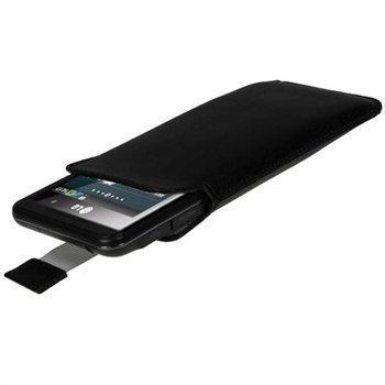 LG Optimus 3D P920 iGadgitz Leather Case Black