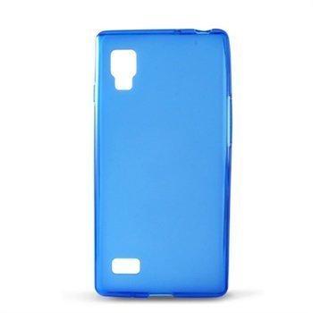 LG Optimus L9 P760 Ksix TPU-Suojakuori Sininen