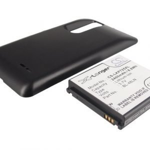 LG P725 Optimus 3D Max Tehoakku Laajennetulla takakannella 2400 mAh