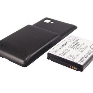 LG P880 Optimus 4X HD Tehoakku Laajennetulla mustalla takakannella 2800 mAh