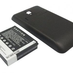 LG P990 Optimus 2X Optimus Speed Star Tehoakku Laajennetulla mustalla takakannella 2400 mAh
