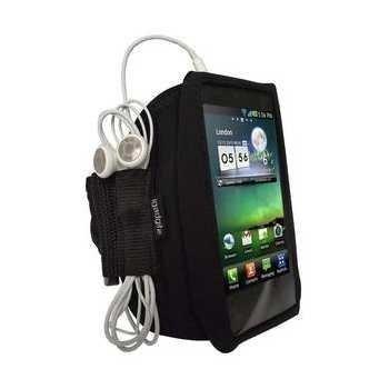LG P990 Optimus 2X iGadgitz Käsivarsikotelo Musta