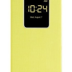 LG QuickWindow Flip Cover for Optimus G2 Yellow